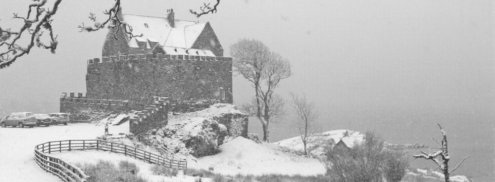 Duntrune Castle Winter